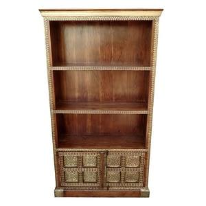 Brass-fit Showcase With Bottom Storage