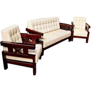 Winster 5 Seater Wooden Sofa