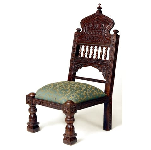 Royal Wooden Fully Carved Chair