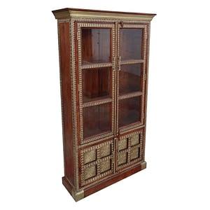 Wooden Showcase With Bottom Storage