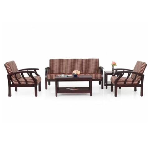 5 Sitter Wooden Sofa