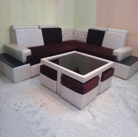 Sofa Set With Centre Table