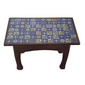 Centre Table With Block/ Tile Fit Design