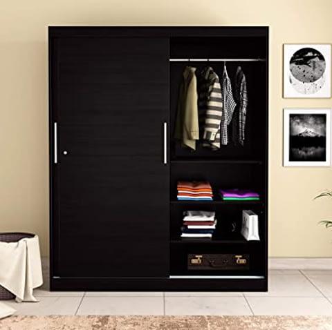 Wardrobe With Sliding Door