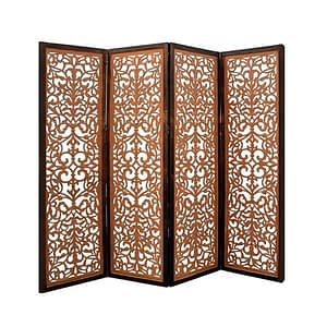 Carved Room Divider Without Legs