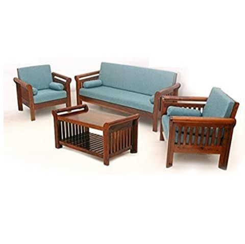 Strip Sofa With Center Table