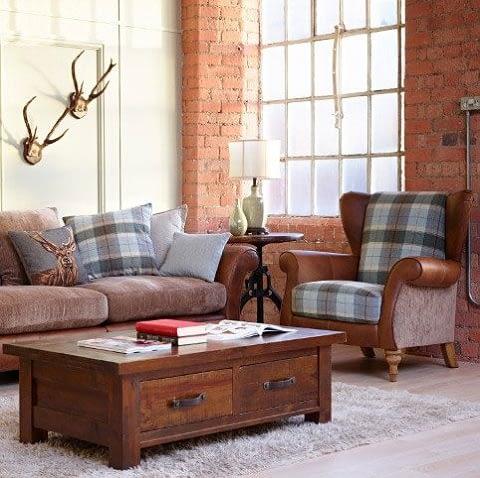 4 Sitter Cushion Sofa