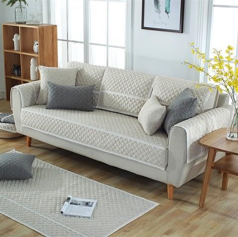 Rectangular Arm Sofa
