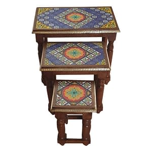 Tile Fitted Furniture Stool